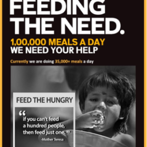 feed hungry people
